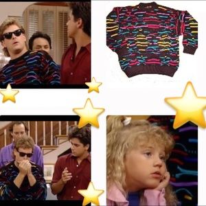 Vintage COOGI Sweater AS SEEN ON TV - Full House